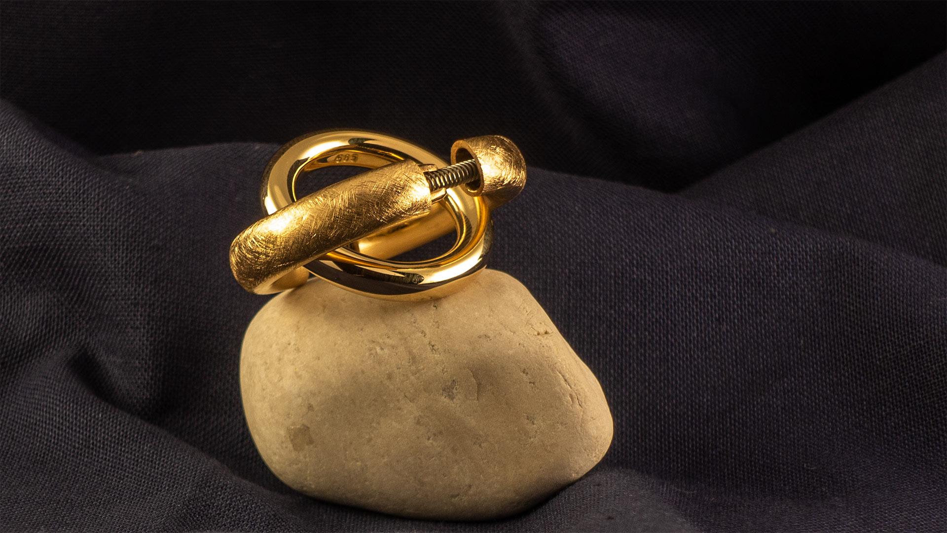 Athroseringe, Gold,
